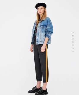 Pull and Bear Striped Trouser / Pants