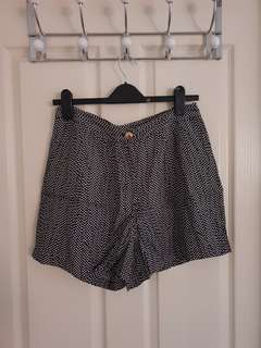 Sportsgirl polka dot highwaisted shorts