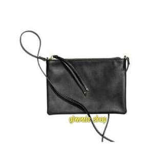Tas selempang wanita original HnM hitam H&M sling bag