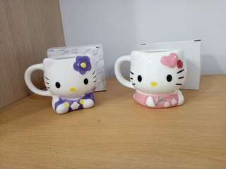 🚚 日本帶回hello kitty對杯
