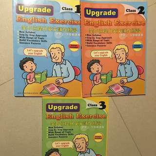 English exercise books for primary 1-3