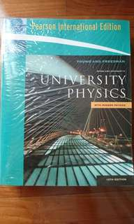 University Physics with Modern Physics by Young and Freedman