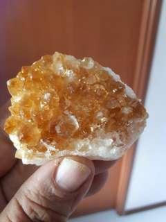 Citrine Crystal  黄水晶片
