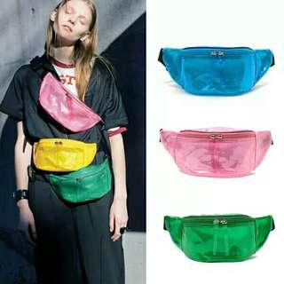 Transparent Belt Bag