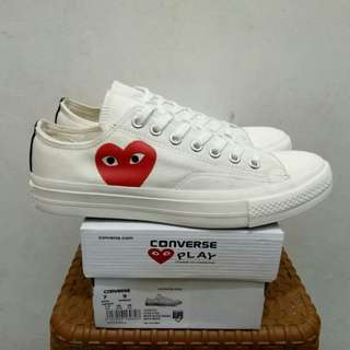 CDG LOW OFF WHITE (Brand New In Box) FULL TAG BARCODE MADE IN VIETNAM 39/40/41/42/43