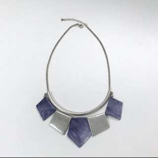 F21 marble necklace