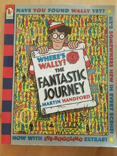 Book: Where's Wally? The Fantastic Journey *Preloved*