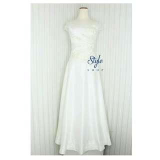 Wedding dress/ gaun pengantin simple elegant