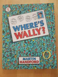 Book: Where's Wally? Book 1 *FINAL SALE! Preloved, in almost new condition!*