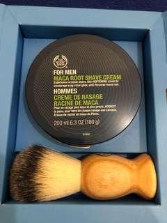 Shaving Cream by The Body Shop