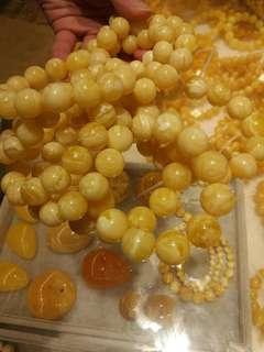 Amber stone jewellery