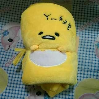正版蛋黃哥毛毯
