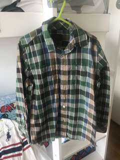 Esprit long sleeve Checkered Shirt