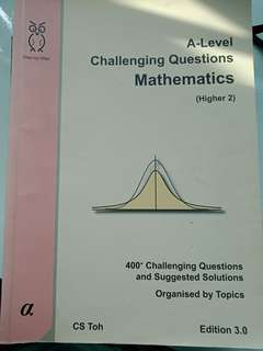 A level challenging questions mathematocs