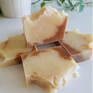 Turmeric Moisture Bar Soap (100% Handmade, Natural Cold-process Soap made in SG)