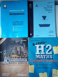 JC H2 MA, PH, EC topical/subject guide/model essays
