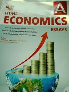 Anthony fok economics essays book