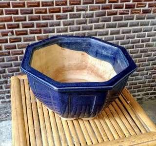 台灣早期陶瓷盆栽花器—古物舊貨