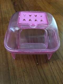 Hamster mice sand bath house