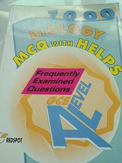 1000 biology  mcq with helps redspot