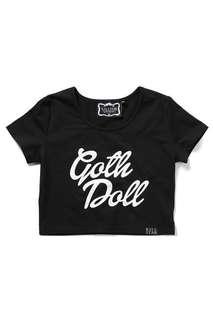Killstar Goth Doll Crop Top