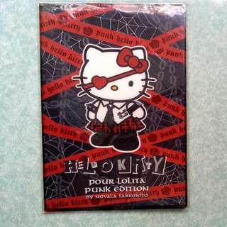 File line pad, Hello Kitty Lolita Punk Edition