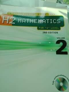 H2 mathemathics assessment book