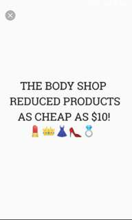 *REDUCED* Body Shop Products