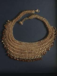 Various pre-loved statement necklaces for sale