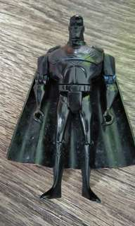 Fully black Superman