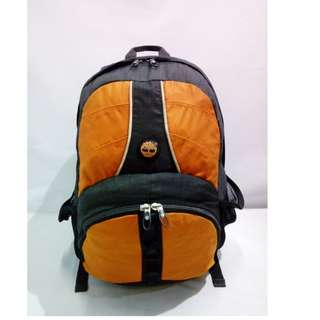 Tas Tiberland Black Orange Backpack Original - TS.195