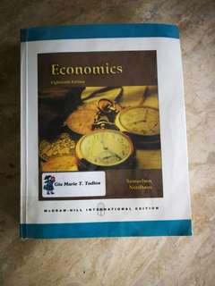 Economics 18th ed Samuelson Nordhaus