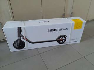 FREE IMMEDIATE DELIVERY - LTA COMPLIANT - Segway Ninebot ES2 electric kick scooter