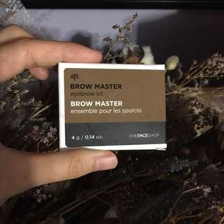 The Face Shop Brow Master Kit in Beige Brown