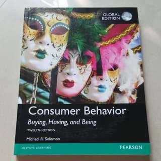 Consumer behavior - UCD