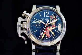 Graham Chronofighter Noseart Kelly