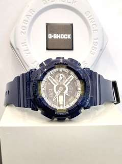 * FREE DELIVERY * Brand New 100% Authentic Casio GShock S Series MidNight Blue G Shock For Ladies G-Shock GMAS110MC 2 GMAS110MC-2ADR