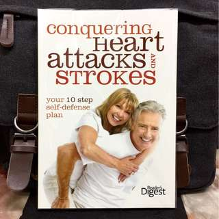《Bran-New + A Step-By-Step Guide on Prevention & Self Defense Plan For Cardiovascular Disease》Readers Digest - CONQUERING HEART ATTACKS AND STROKES : Your 10 Steps Self-Defense Plan