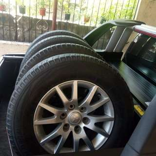 Montero mags and tires