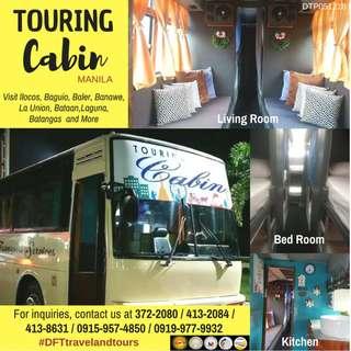 Touring Cabin Manila