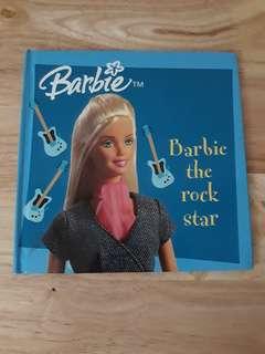 Barbie the rock star