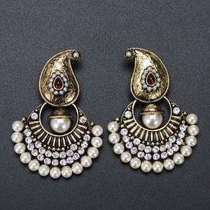 Royal Indian Ethnic Style Pearl Earrings