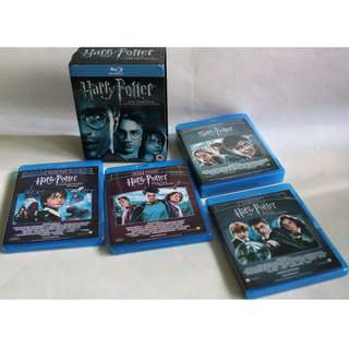 HARRY POTTER The Complete 8-Film Collection in BLU-RAY