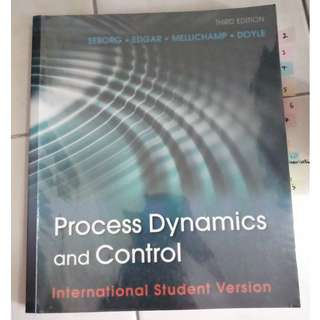 Process Dynamics and Control, 3rd Edition International Student Version
