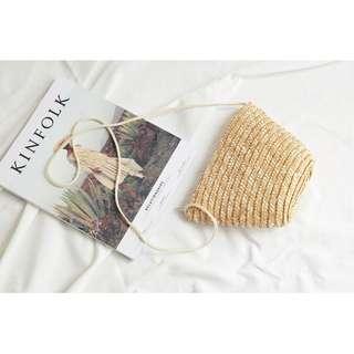 Stylish Straw Sling Bag