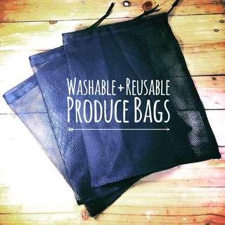 Washable Reusable Produce Bags