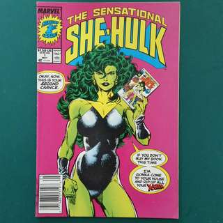 Sensational She-Hulk No.1 comic