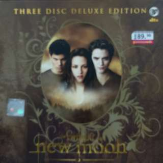 The Twilight Saga New Moon 3 Disc Deluxe Edition DVD