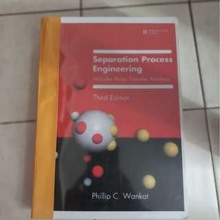 Separation Process Engineering: Includes Mass Transfer Analysis, Third Edition