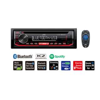 JVC KD-R792BT CAR CD PLAYER RECEIVER